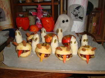 Id es ap ro dinatoire halloween - Aperitif dinatoire halloween ...